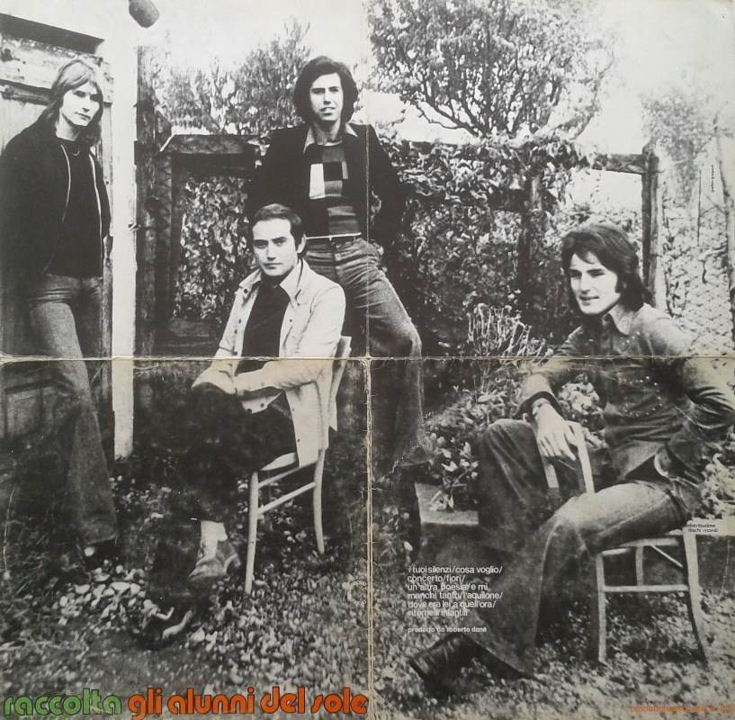 Alunni del Sole – Isa, Isabella; Concerto; L'Aquilone (1969-1973)